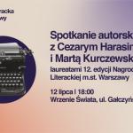 Spotkanie autorskie z laureatami 12. edycji Nagrody Literackiej m.st. Warszawy w