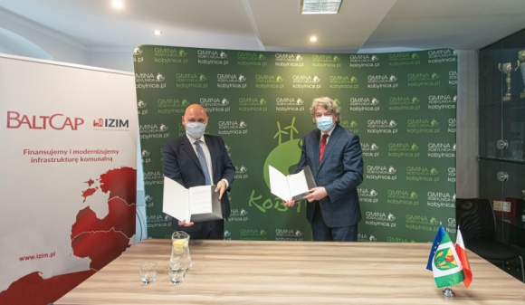 BaltCap sfinansuje budowę nowoczesnego oświetlenia ulicznego w Gminie Kobylnica